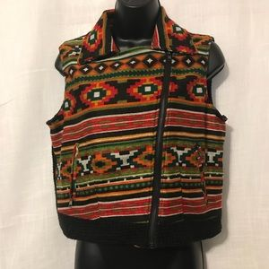 Jackets & Blazers - Printed Woven Multicolor Vest